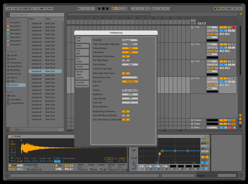Mid Light Remix Theme for Ableton 10 by Gurney