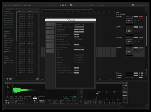 Spotify Remix Theme for Ableton 10 by StupidAss