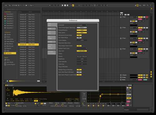 Max2_2020 Theme for Ableton 10 by Ice Rain