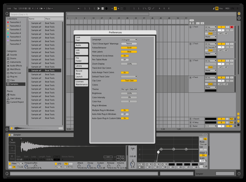 Theme V1 Theme for Ableton 10 by Jason