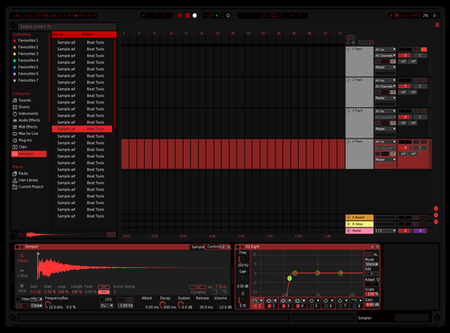Red theme Theme for Ableton 10 by Virdrox