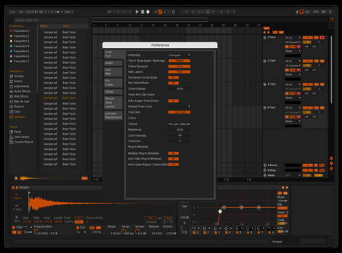 Orange Theme for Ableton 10 by andrea
