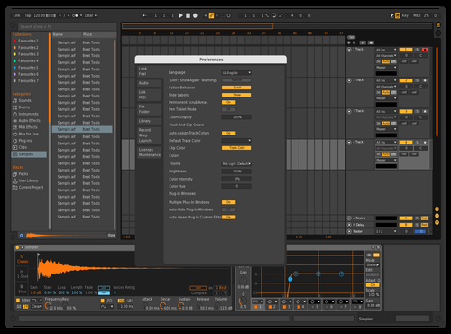 Easy Orange Theme for Ableton 10 by Paul Matthew