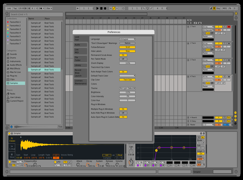 Neo Theme for Ableton 10 by Shubham Vishwakarma