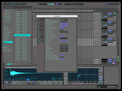 738475X 2 Theme for Ableton 10 by Kaix