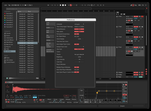 Red Theme for Ableton 10 by Michael