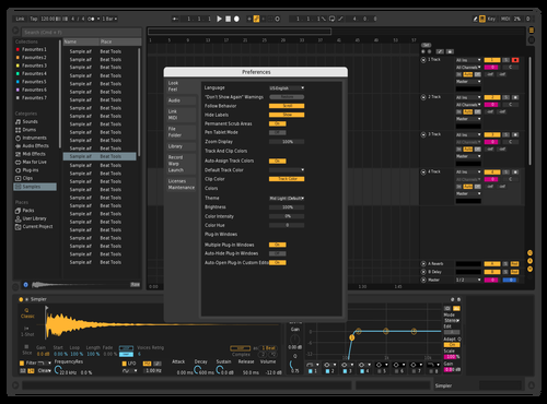 112334 Theme for Ableton 10 by Vlad