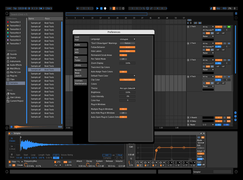 DarOraBlue Theme for Ableton 10 by roman ghimire