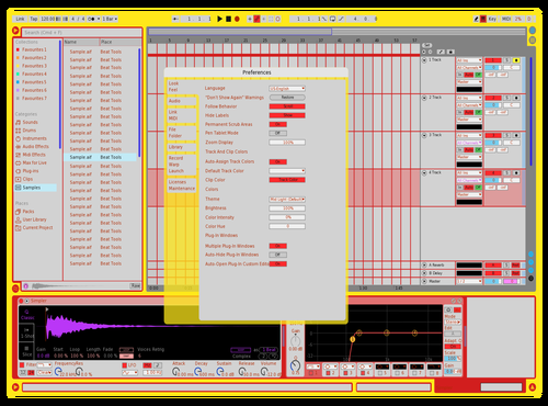 TEST STAN Theme for Ableton 10 by Stany Kibulu