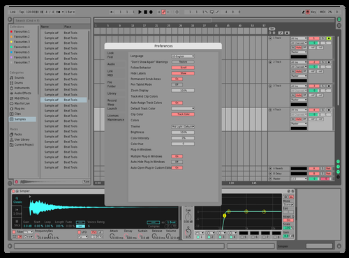 Danewav Exclusive Theme for Ableton 10 by Daniel