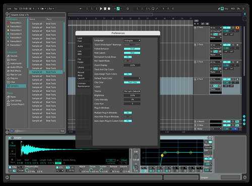 BETTER VIEW Theme for Ableton 10 by nobots