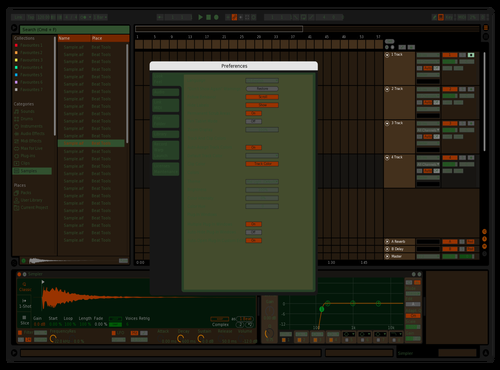Choktober Theme for Ableton 10 by Eddie Farfan