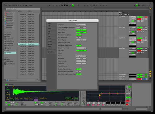 Simple Theme for Ableton 10 by Soelin