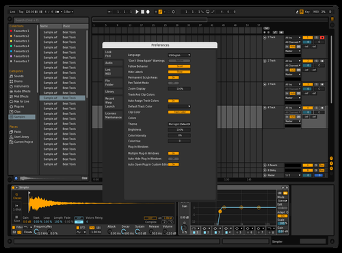 Sick 2 Theme for Ableton 10 by rodrigo