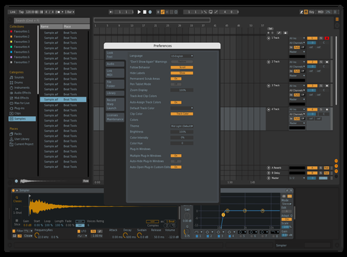 The Boathouse Theme for Ableton 10 by Emiel Samandar