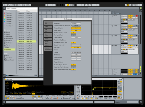 Fuji Opener Version 8 Theme for Ableton 10 by Acxel