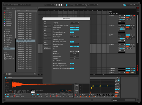 Dark-Red Theme for Ableton 10 by DaniG