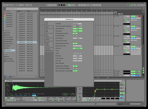 DEFTELAVIV Theme for Ableton 10 by david