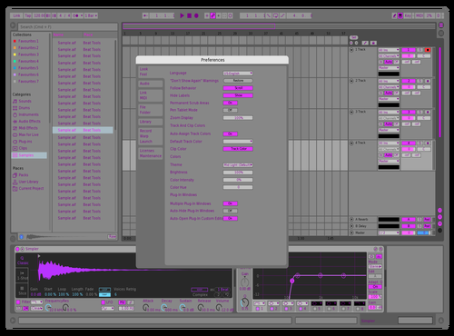 Supermidlighttemes Theme for Ableton 10 by Лёша