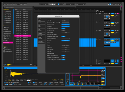 ()ink Theme for Ableton 10 by eliderp