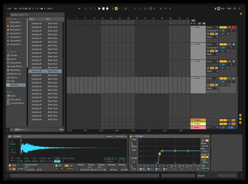 Darker Theme for Ableton 10 by Richard