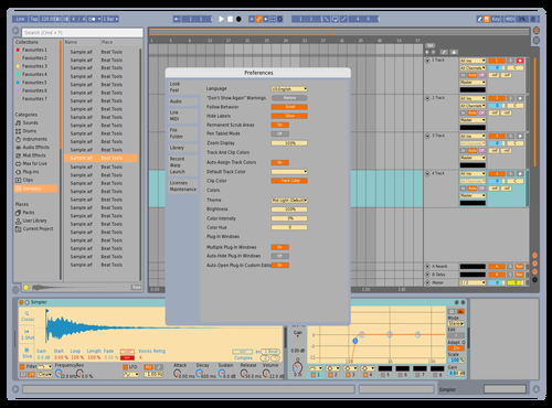 Sibleys Original Skin Theme for Ableton 10 by bruyan