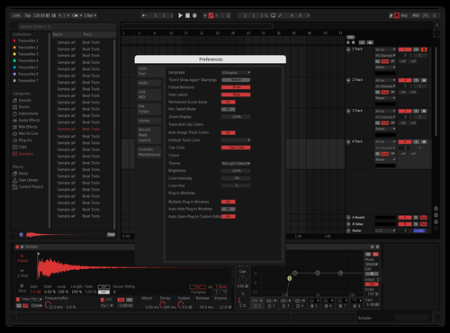 Black + red Theme for Ableton 10 by black-acid
