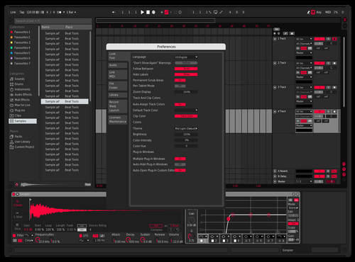 Dystopian red Theme for Ableton 10 by lvcifer