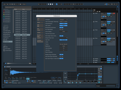 Lunar Theme for Ableton 10 by lunar1337