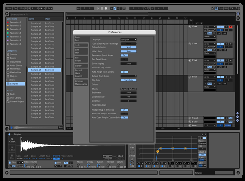 Nightsteve Theme for Ableton 10 by Nightsteve