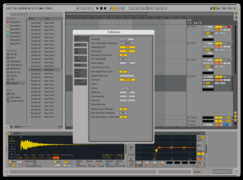 CinzaOne Theme for Ableton 10 by Plauto Camargo