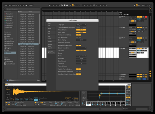 Stoca<< Theme for Ableton 10 by Michele Surgo