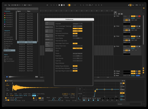 Testing Theme for Ableton 10 by roxy