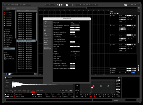 Black Theme for Ableton 10