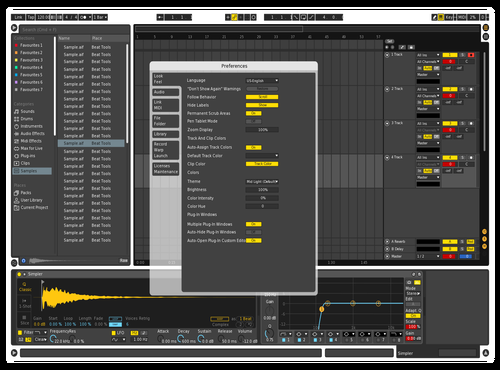 Made Theme for Ableton 10 by Filipp