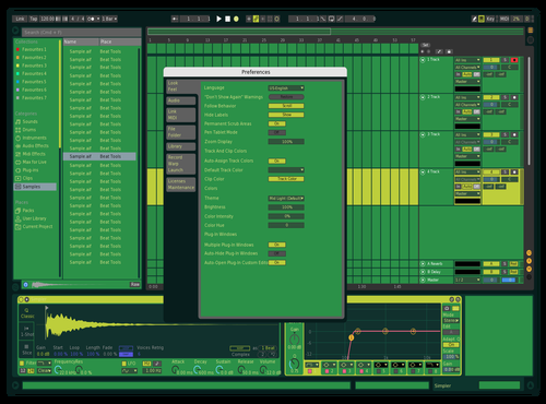 WIP 1 Theme for Ableton 10 by retrochrome