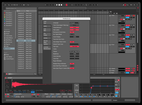 Vrred unf Theme for Ableton 10 by Reaver