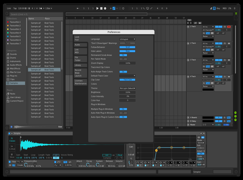 Dark3 Theme for Ableton 10 by Jo3L
