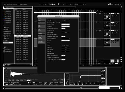 AmolWhite Theme for Ableton 10 by xoof_7