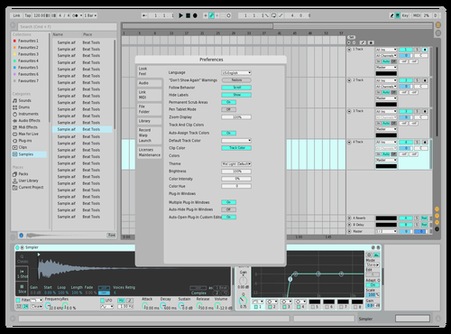 Pastel Delight Theme for Ableton 10 by Gerald Fitz