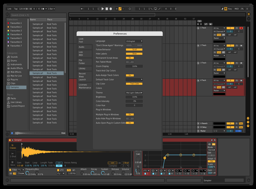 Dolgopups Theme for Ableton 10 by Dolgopups
