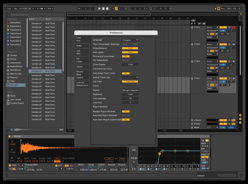 Ruslan Theme for Ableton 10 by Ruslan