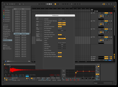 Dark But Red Theme for Ableton 10 by Clayton