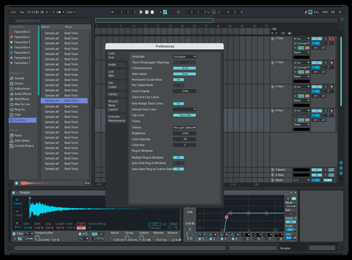 NightTheme Theme for Ableton 10 by Schiefer Kiefer