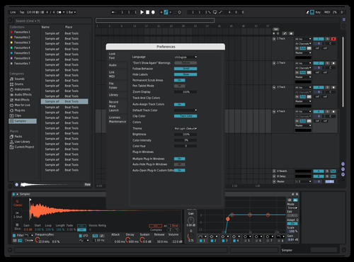 Tt Theme for Ableton 10 by Reaver