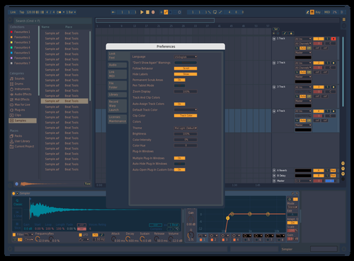 Moonlight Theme for Ableton 10 by bio-art