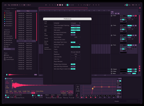 Alterneon Theme for Ableton 10 by IKDESIGN