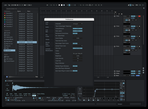 Dark Mode Theme for Ableton 10 by teriyxki