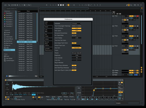 DarkNeo Theme for Ableton 10 by david