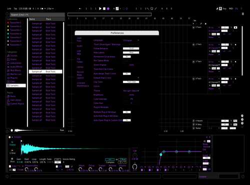 Nuzzi Theme for Ableton 10 by Ivan Torres